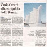 Translate in en: Vania Cusini alla conquista della Russia