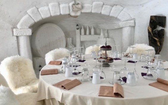 snow cave restaurant 2