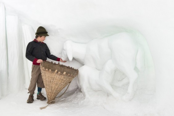 snow chalet 2