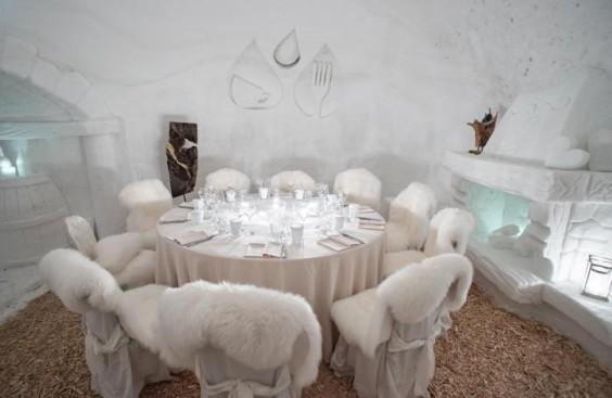 ristorante di neve