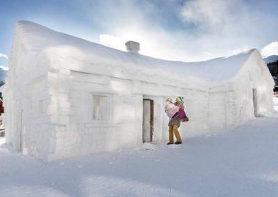 snow chalet 2018