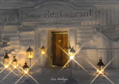 snow restaurant 2018